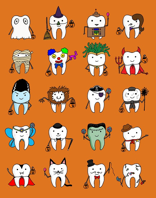 Chelsea Kowitz | Halloween teeth #halloween #teeth #drawing http://www.chelseakowitz.com/