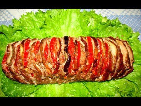 """Вкусно - #Мясо Запеченное в Духовке """"Мясная Книжка"""" #СвининаГАРМОШКА Рецепты. - YouTube"""
