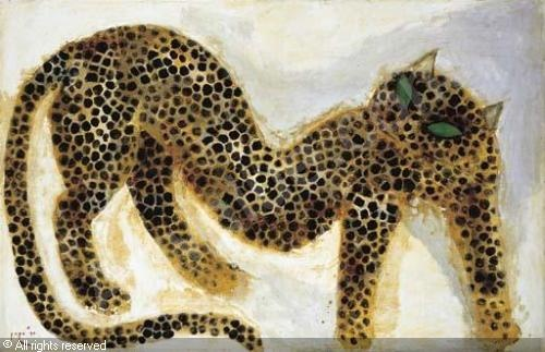 "Indonesian Painter Popo Iskandar ""Cheetah"""