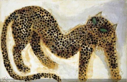 "Indonesian Painter Popo Iskandar ""Cheetah"""