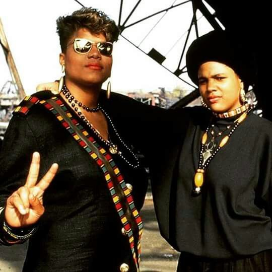 Queen Latifah & Monie Love