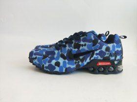 the latest 86684 0e3c8 Nike Air Shox Camouflage Blue Black Shox Nz Mens Running ...