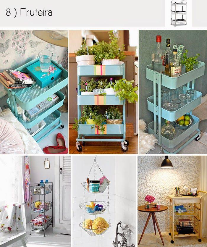 Casa de Colorir - fruteira como mesa de cabaceira e bar