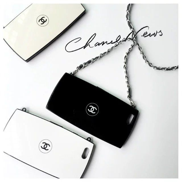CHANEL アイフォン7/6Sカバー コンパクト型 フェイスパウダー 欧米シンプル iPhone7/7 Plus/6s plus保護ケース