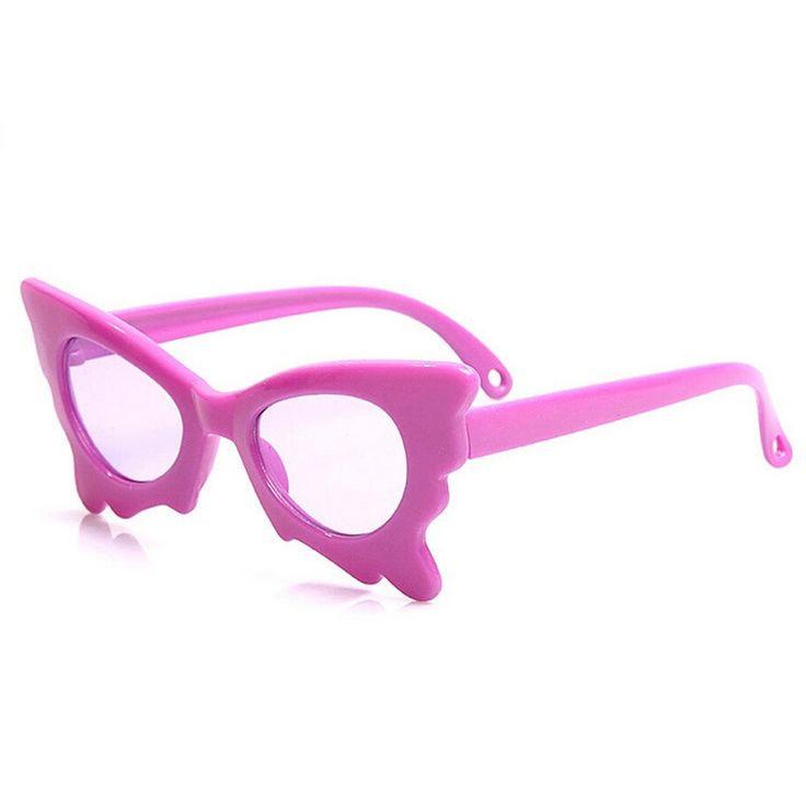 Butterfly Style Sun Glasses Children Baby Sunglasses Safety Coating Kids Sunglasses UV400 Protection Sunglasses Free Shipping-in Sunglasses from Mother & Kids on Aliexpress.com | Alibaba Group