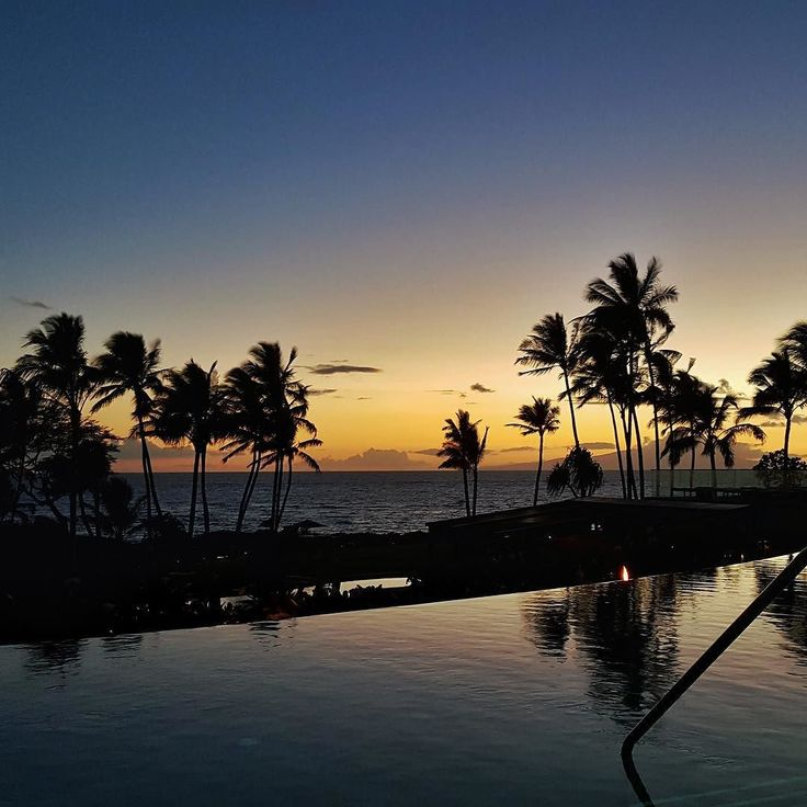 The cascading infinity pools at the Andaz Resort in Maui are a great place to watch the colorful Hawaiian #sunsets. Go to @luxwtconcierge for exclusive travel specials we have at this #resort. #sunset #beautiful #skylovers  #sky #trees #beach #good #instagram #instagood #picoftheday #photooftheday  All week long we will be featuring the Hawaiian Islands. Hashtag your best pictures/videos taken in #hawaii #maui #kauai #oahu #lanai with #luxwt or #luxuryworldtraveler for a chance to be…