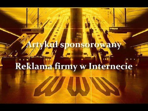 #artykuł #sponsorowany przybliża czytelnikom firmę, jej produkty i usługi. Co o tym sądzisz? https://youtu.be/5zvI5uXFikA . http://www.reklamafirm.biztek.pl