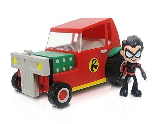 "Teen Titans Go 2.75"""" Robin with 5"""" Vehicle"