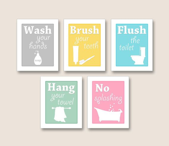 Bathroom Art Prints SET OF 5 8x10s in the color of by BabysOwn   25 0012 best Trendy Bathroom Decor images on Pinterest   Bathroom ideas  . Bathroom Artwork. Home Design Ideas