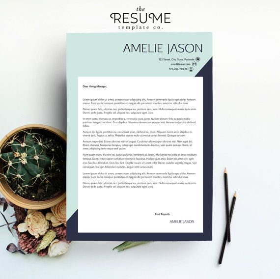 Cover Letter Template by TheResumeTemplateCo