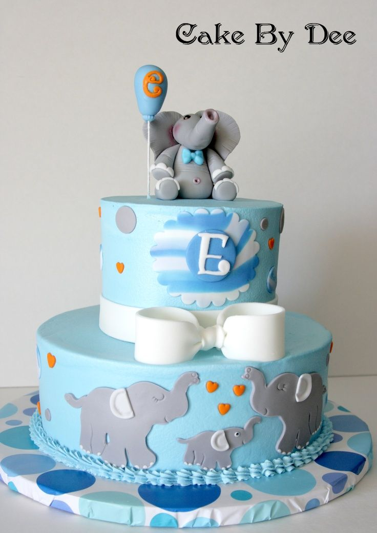 Baby Shower Cakes Elephants ~ Best elephant baby shower images on pinterest