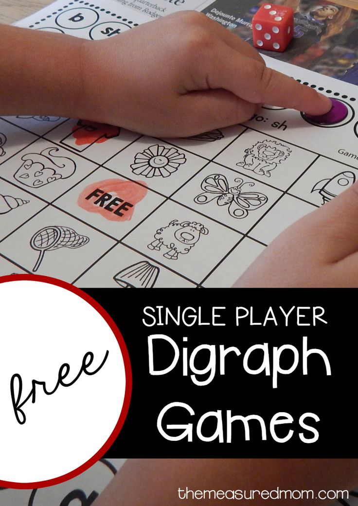 I love this no prep digraph activity! These 8 single player Bingo games are great for helping kids learn the sounds of sh, ch, th, kn, and wh.