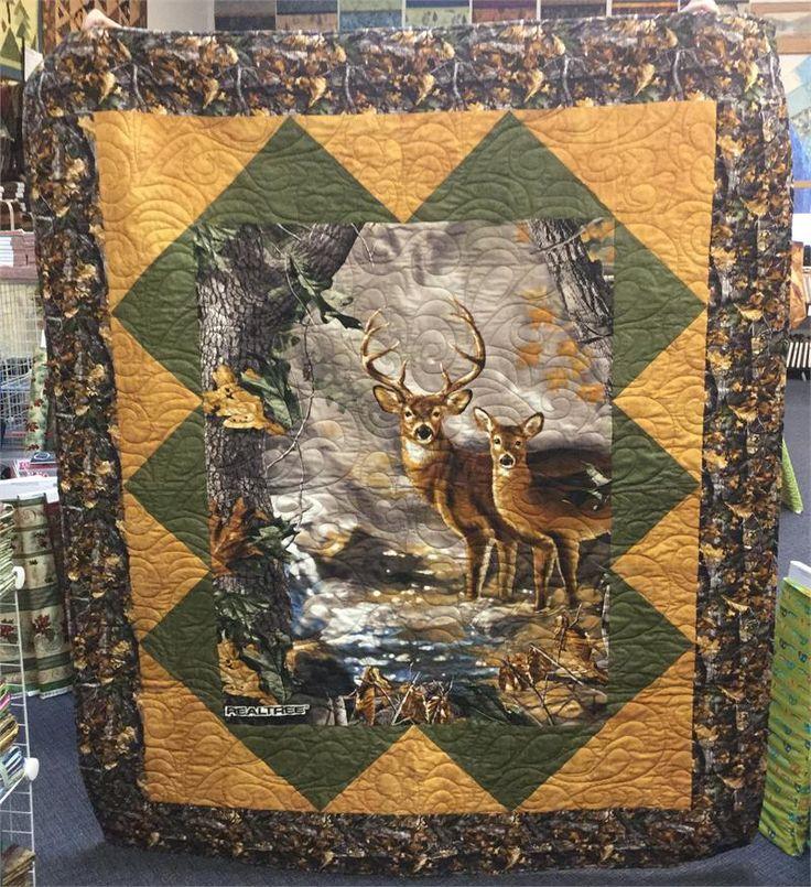Realtree Large Deer Quilt Kit Print Concepts Hingeley
