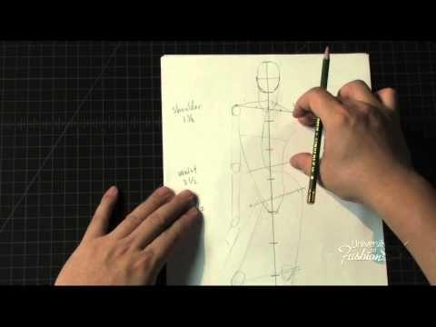Fashion Art: How to draw a male contrapposto pose