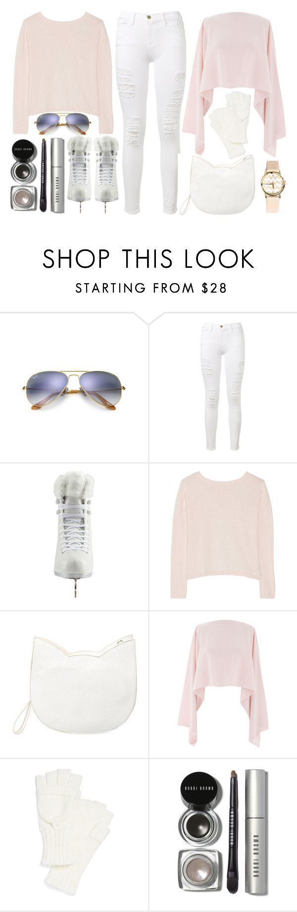 """:: ice skating all day long ::"" by andreearucsandraedu ❤ liked on Polyvore featuring Ray-Ban, Frame Denim, Artistique, Banjo & Matilda, Forever 21, Henri Bendel, Echo, Bobbi Brown Cosmetics, Timing and winterwhite"