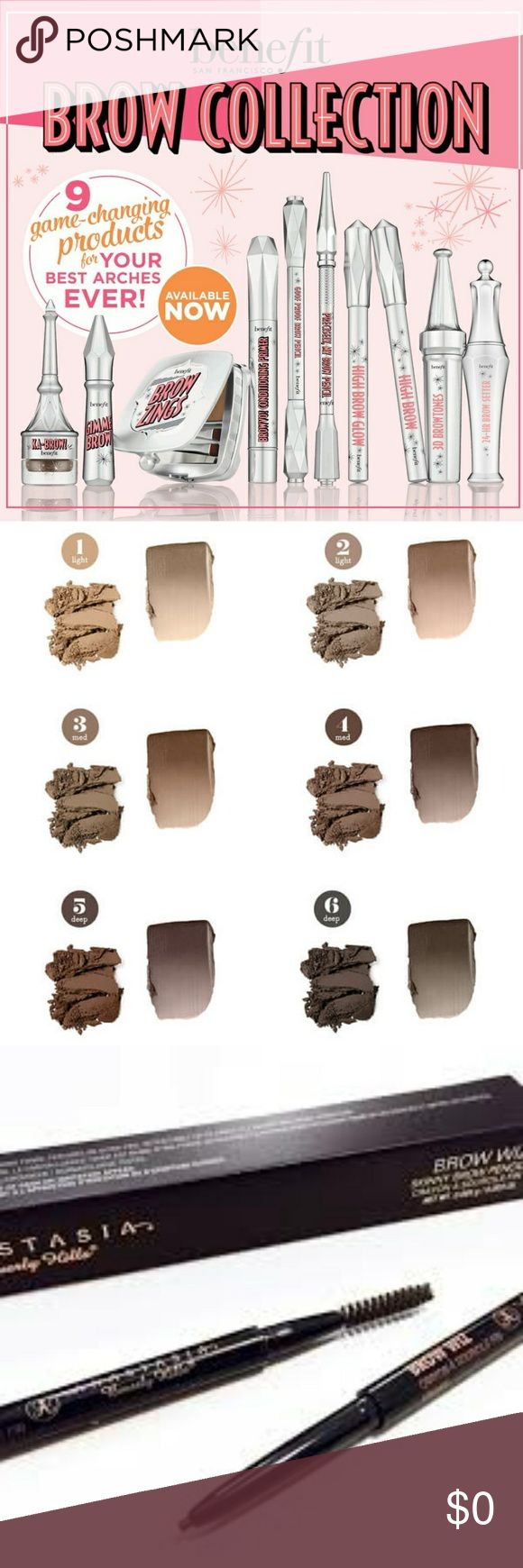 MAJOR ISO IM ISO OF ALL OF THESE EYEBROWS SHADES EBONY AND 4 OR 5 IN BENIFIT PREFER TO TRADE BUT WILL PURCHASE FOR THE RIGHT PRICE.   IM LOOKING FOR THESE!!!! Makeup