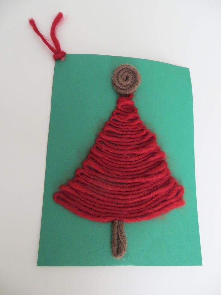 Υλικό για Δημιουργική Διδασκαλία : Χριστουγεννιάτικες ευχές σε κάρτες χειροποίητες