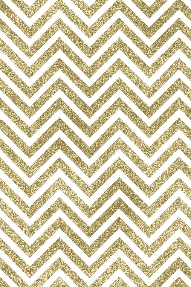 Gold white chevron iphone wallpaper background phone lock screen