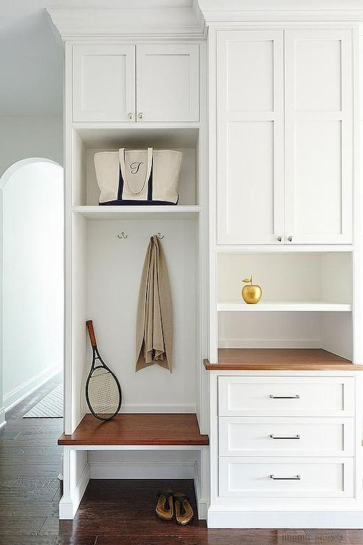 196 best mudrooms images on pinterest entrance hall for Farmhouse mudroom ideas
