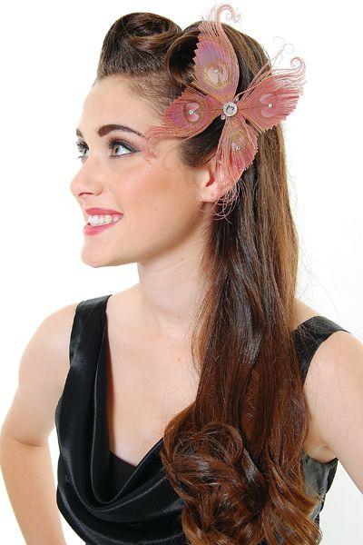 Hairstyles Headband 1940 Wedding Pin