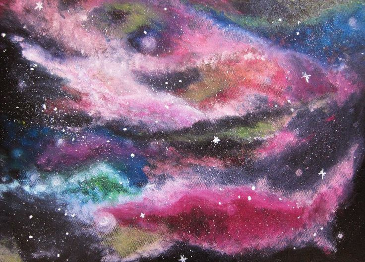 7 best My paintings images on Pinterest | Galaxies, Painting art ...
