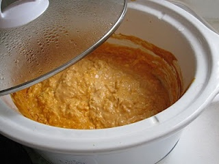 Crock Pot Buffalo Chicken Dip.  This one is a favorite around the Smith house:)