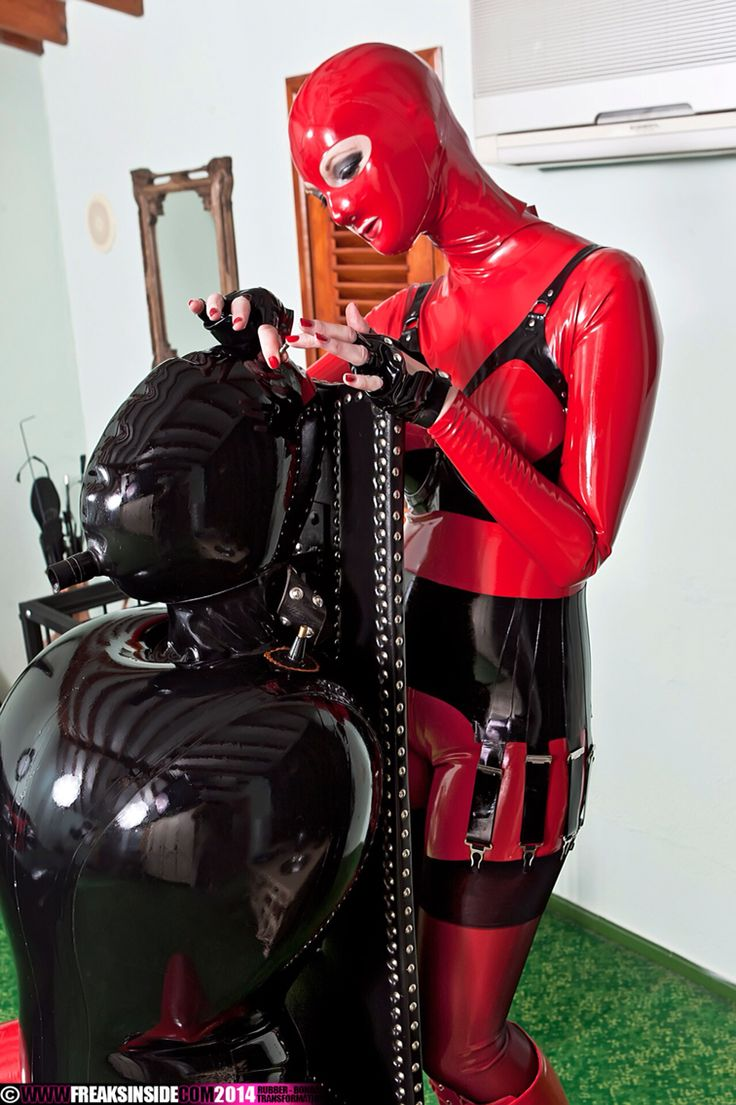 Inflatable latex clothing