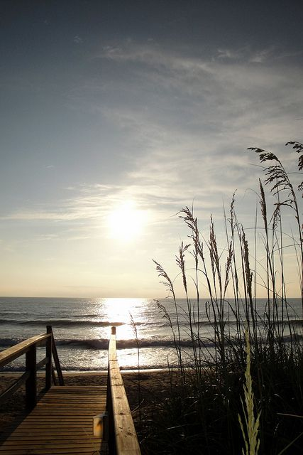 5. Beach scene: Early Morning on the Outer Banks