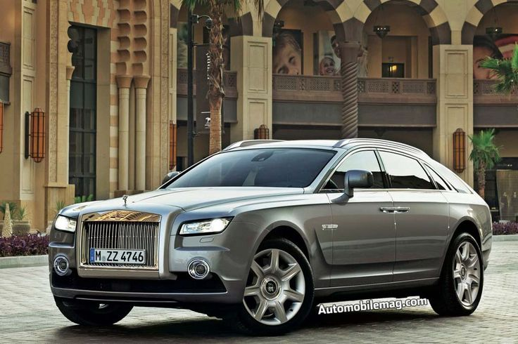 2018 Rolls Royce SUV - Apparently Coach and Pullman are the proposed names for the new design.