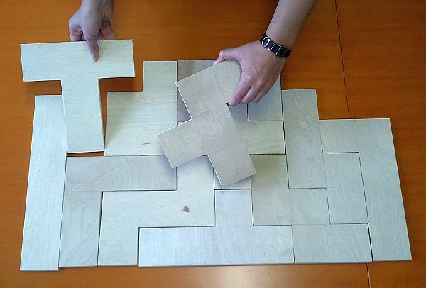 how to make a rectangle out of pentominoes