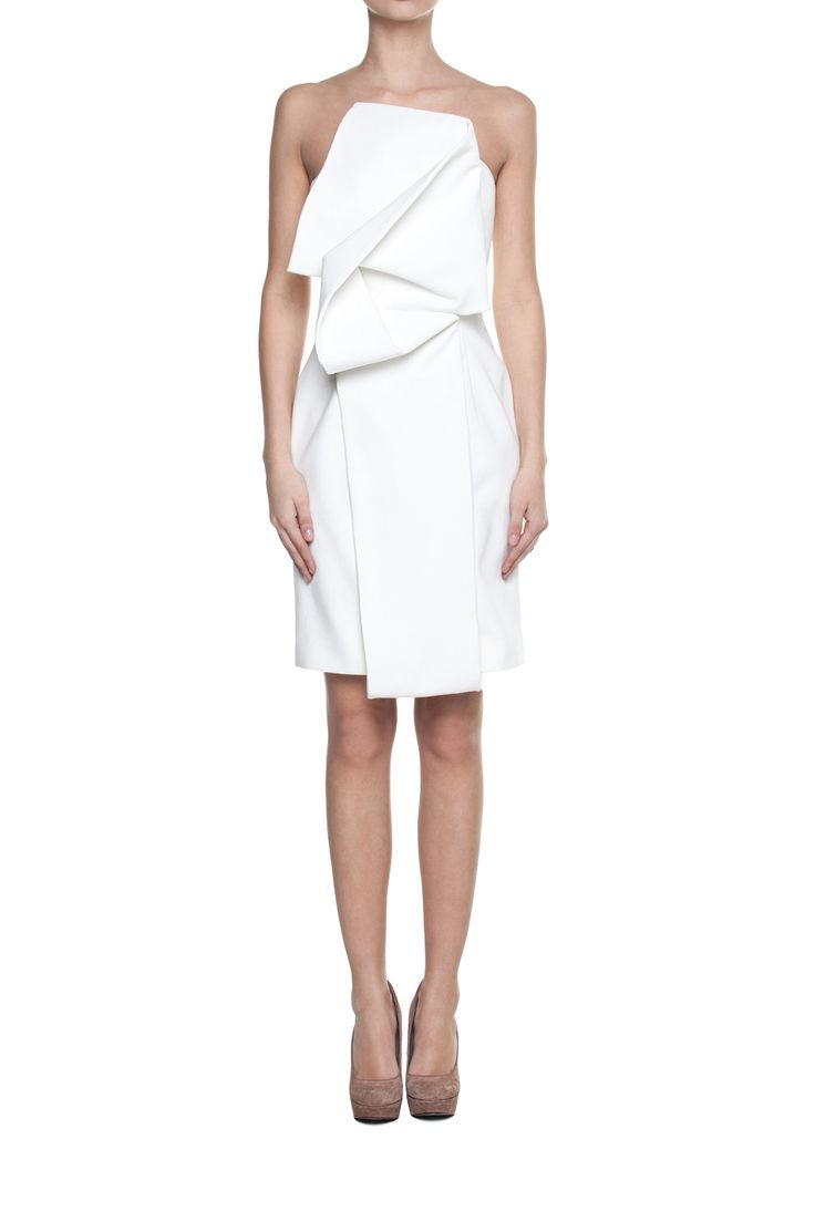 White origami dress | Apparel \ Dresses \ Mini Apparel \ Dresses ...