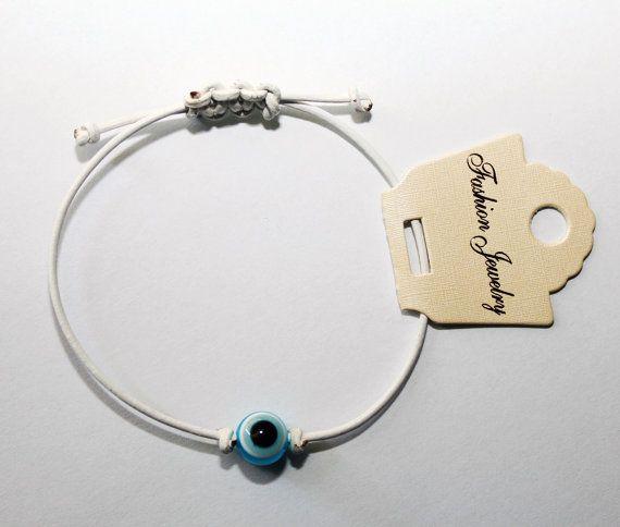 Greek Evil Eye 100% Genuine Leather Bracelet 1.5mm (For Men, Women & Children) Price: €14.99 Including FREE International Shipping!!!