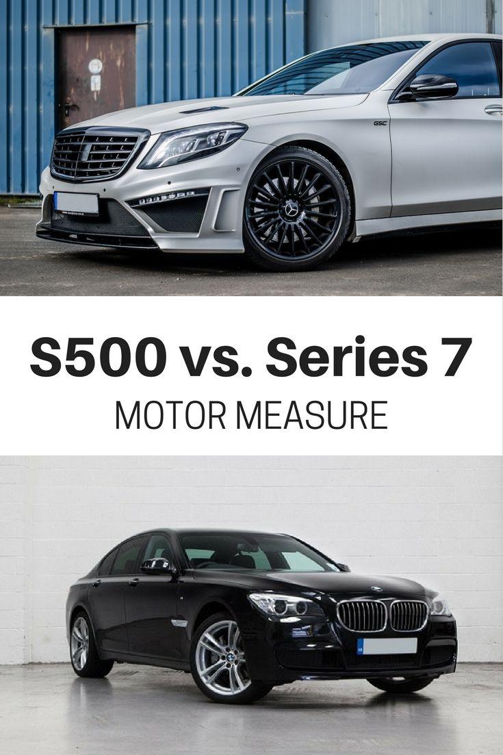 BMW Series 7 vs. Mercedes-Benz S500 :: Motor Measure | #BMW #Series7 #S500 #Mercedes #bimmer #luxury #saloon #executive #sedan
