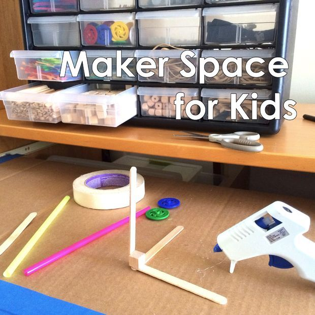 I'll show you an example of how you can set up a maker space for your child that addresses these roadblocks and will help transform ideas into reality!