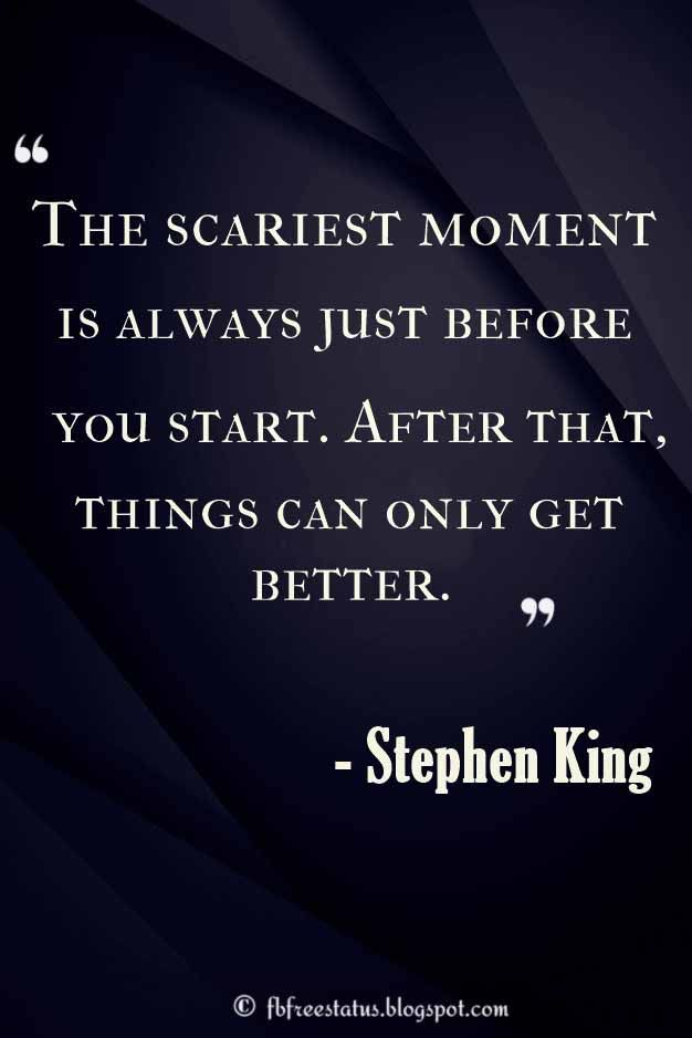 Stephen King Quotes, stephen king horror quotes, Find the best quotes about Stephen King on Raise Your Mind -