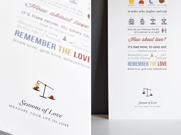 Seasons of Love | I love... | Pinterest | Seasons, Lyrics and ...