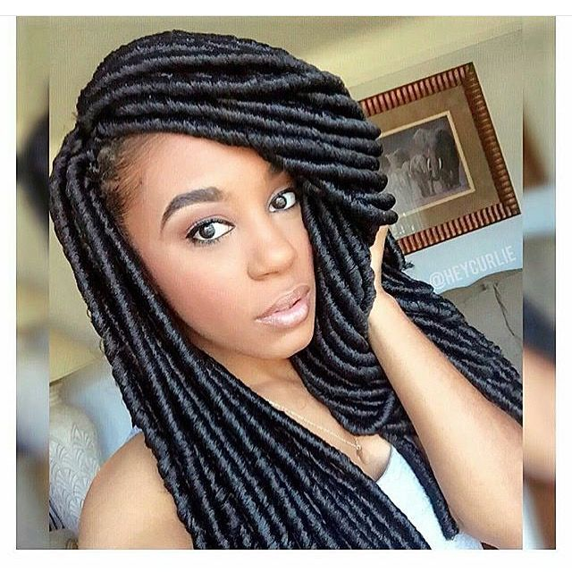 Awe Inspiring 1000 Images About Faux Locs On Pinterest Yarns Follow Me And Short Hairstyles Gunalazisus
