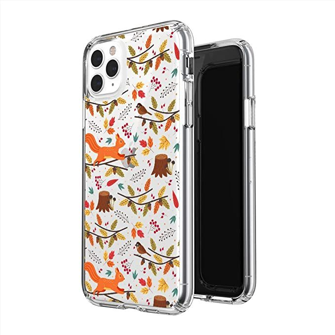Cute Autumn Pattern Halloween Phone Case Phone Cover For Iphone Apple Phone Scorpioshop Iphone 11 Pro Max Am In 2020 Halloween Phone Cases Apple Phone Phone Cases