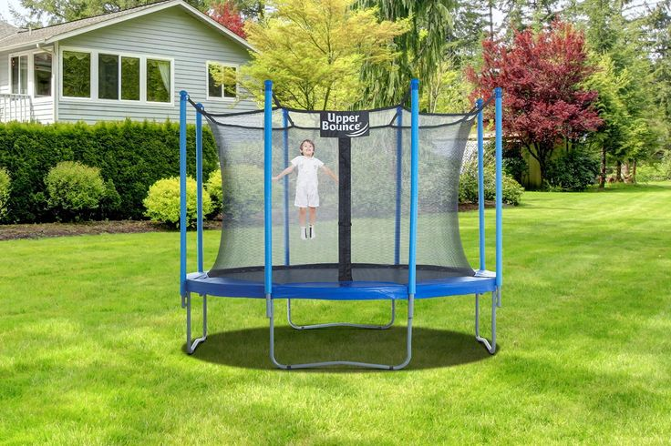 72 Best Trampoline With Enclosure Images On Pinterest