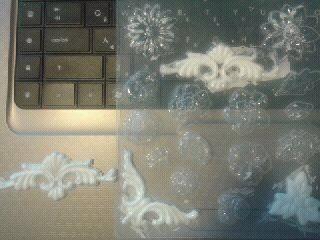Мобильный LiveInternet Создадим сами структурные пасты для объёмного декора. | Valeri-Lerylia - Дневник Valeri-создаю волшебные мечты handmade |