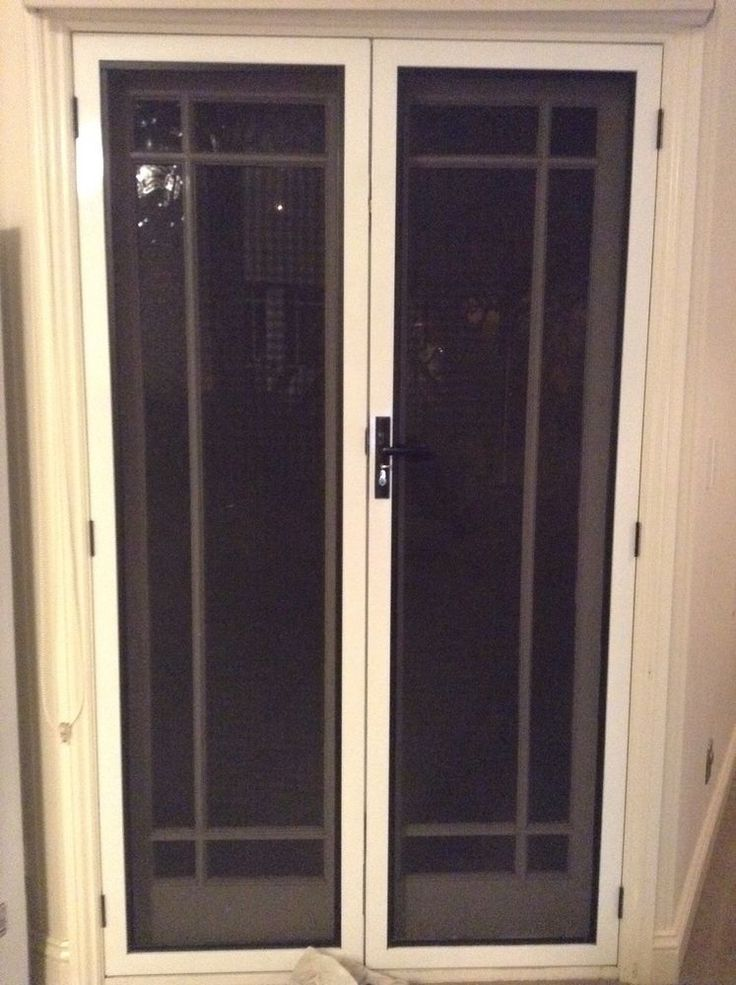 french doors screens security screen for that swing in perth fly bunnings