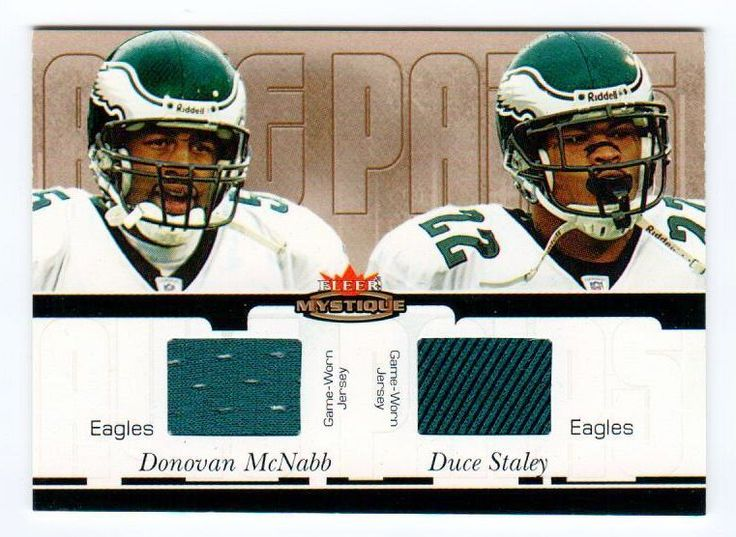 Philadelphia Eagles QB Donovan McNabb & RB Duce Staley