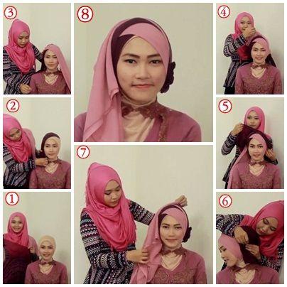 Tutorial Hijab untuk Kebaya #3