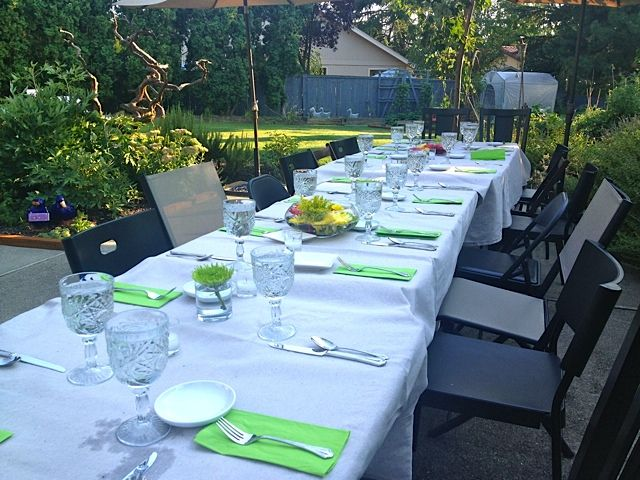 End of Summer Entertaining | Reluctant Entertainer: Summer Entertaining, End Of Summer, Reluctant Entertainer, Entertaining Stuff, Drop Cloths
