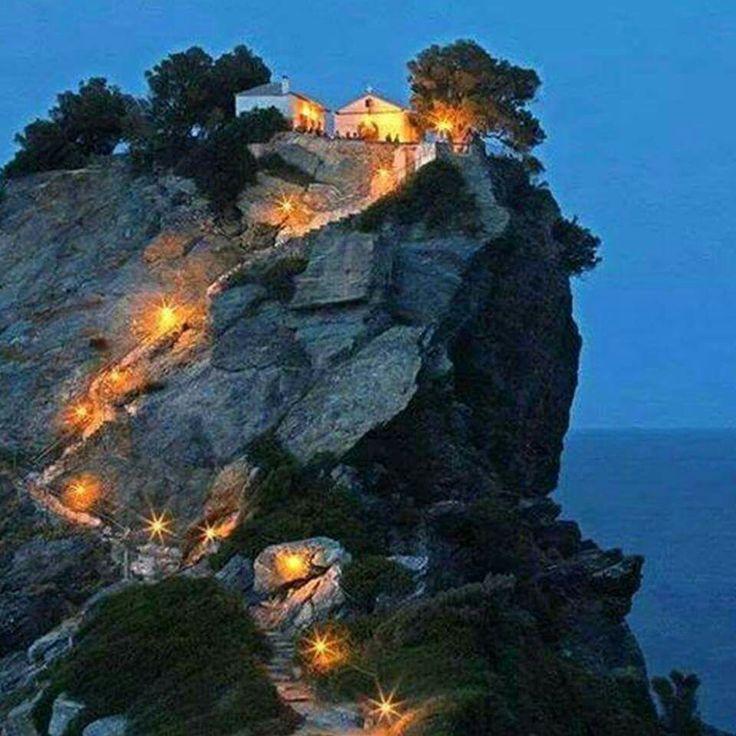 St John Chapel, Skopelos Isl, Greece