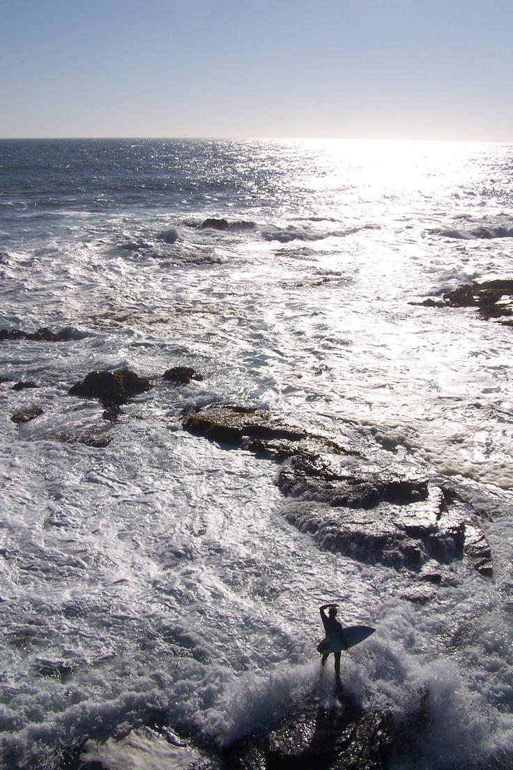 Surfer in Pichilemu, Chile; by Briana Thiodet briana.t@travelstore.com