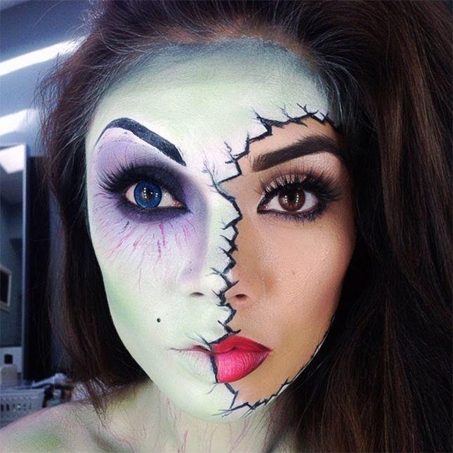 16 best halloween makeup images on Pinterest   Halloween makeup ...