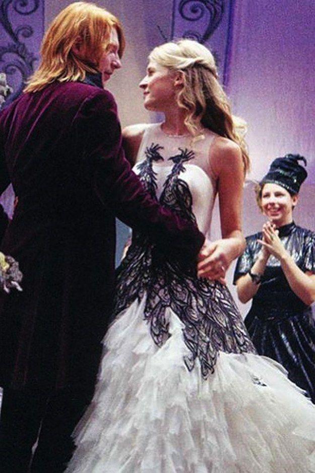 Harry Potter y las Reliquias de la Muerte - Parte 1 (2010) | 48 de los vestidos de boda más memorables de las películas