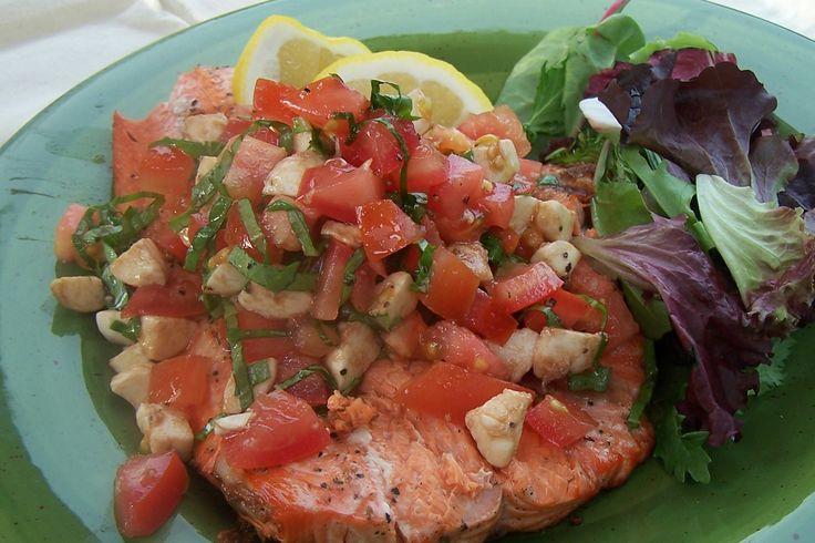 Buca di Beppo Copycat Recipes: Salmon Siracusa   Cooking ...