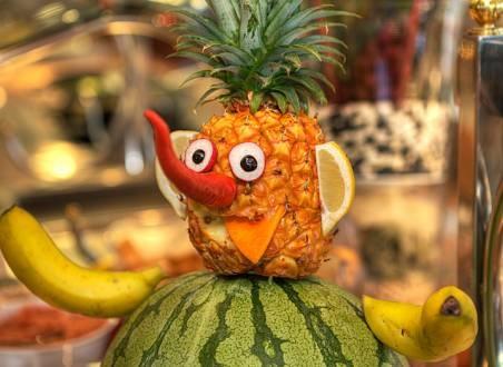 fruit man Hotel Bitacora, Tenerife -Spain